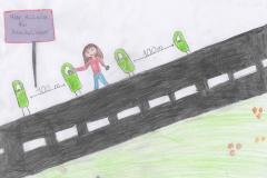 Alina (9) Mehr Mülleimer für Heuchelheim