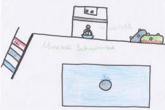 Melissa (10) Minecraft-Schwimmbad