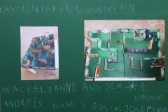 Andrei (5) Josia (5) Diana (5) Liam (6) Josefin (6) Labyrinth für Groß und Klein