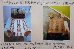 Bastian (6) Jan (6) Marlon (5) Dorfgemeinschaftsplatz-mit-Tribüne