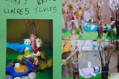 Emma (5) Claire (5) Ylvie (5) Ben (6) Entspannungsgarten mit süßen Früchten-2