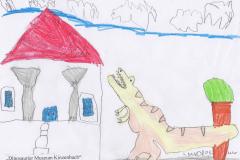 Leandro (6) Dinosaurier-Museum-Kinzenbach